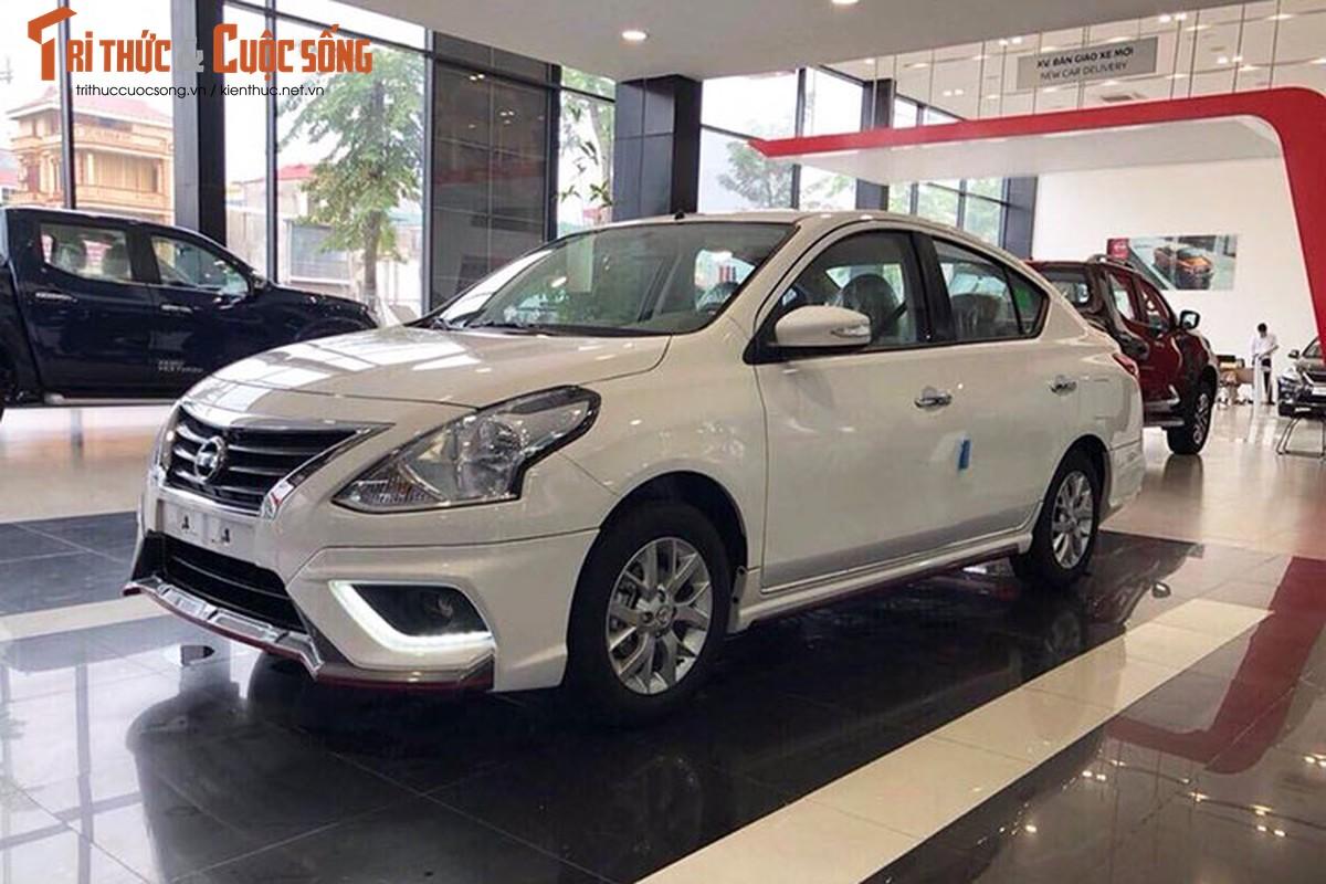 Nissan Sunny 2019 tang gia hon 20 trieu dong tai Viet Nam?