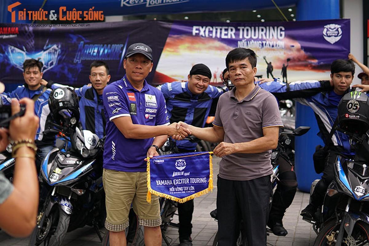 Dan xe may Yamaha Exciter 2019 phuot Sai Gon - Ha Giang-Hinh-10