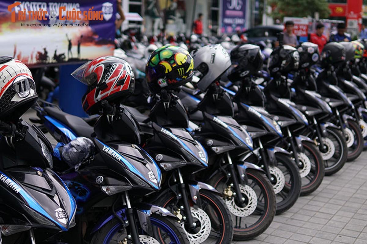 Dan xe may Yamaha Exciter 2019 phuot Sai Gon - Ha Giang-Hinh-12