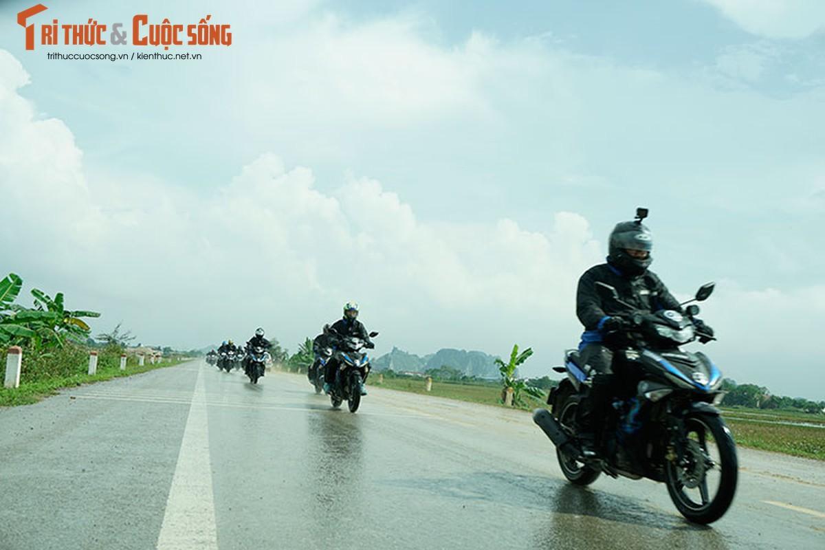 Dan xe may Yamaha Exciter 2019 phuot Sai Gon - Ha Giang-Hinh-4
