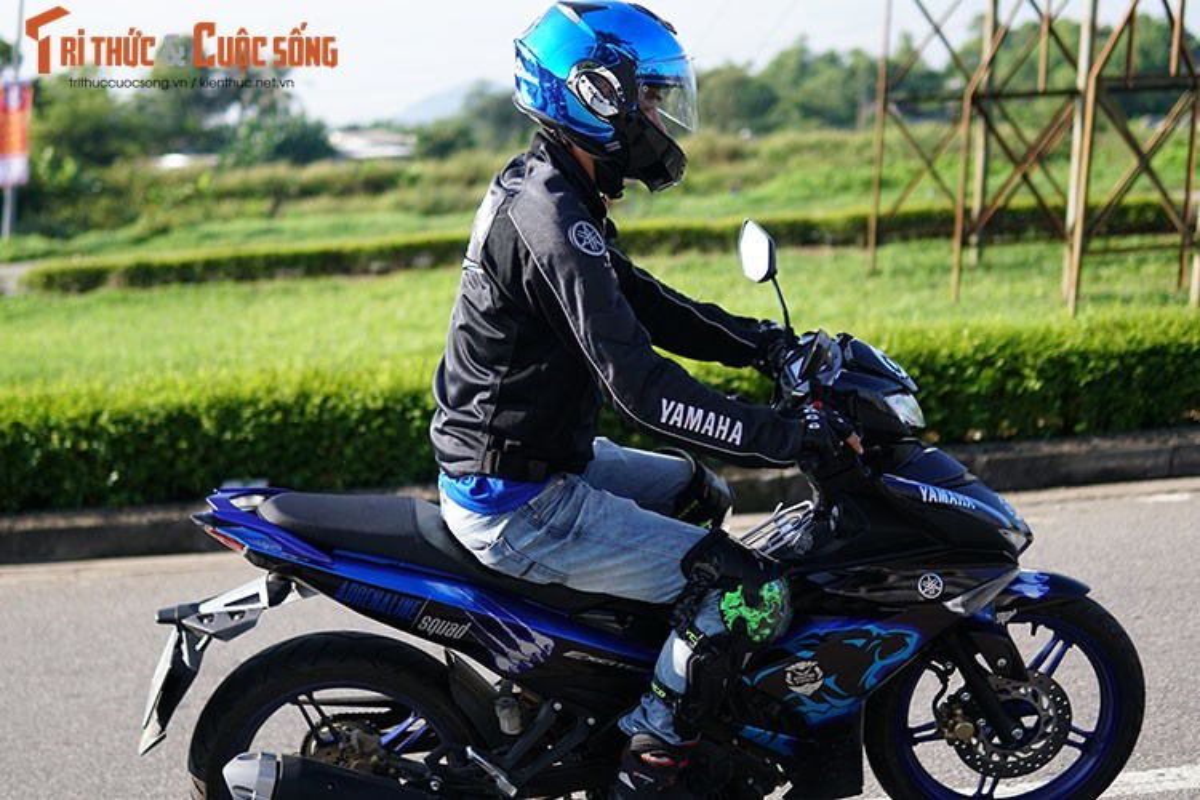 Dan xe may Yamaha Exciter 2019 phuot Sai Gon - Ha Giang-Hinh-5