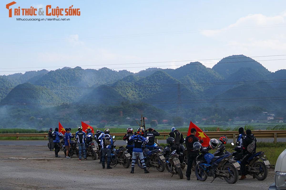 Dan xe may Yamaha Exciter 2019 phuot Sai Gon - Ha Giang-Hinh-6