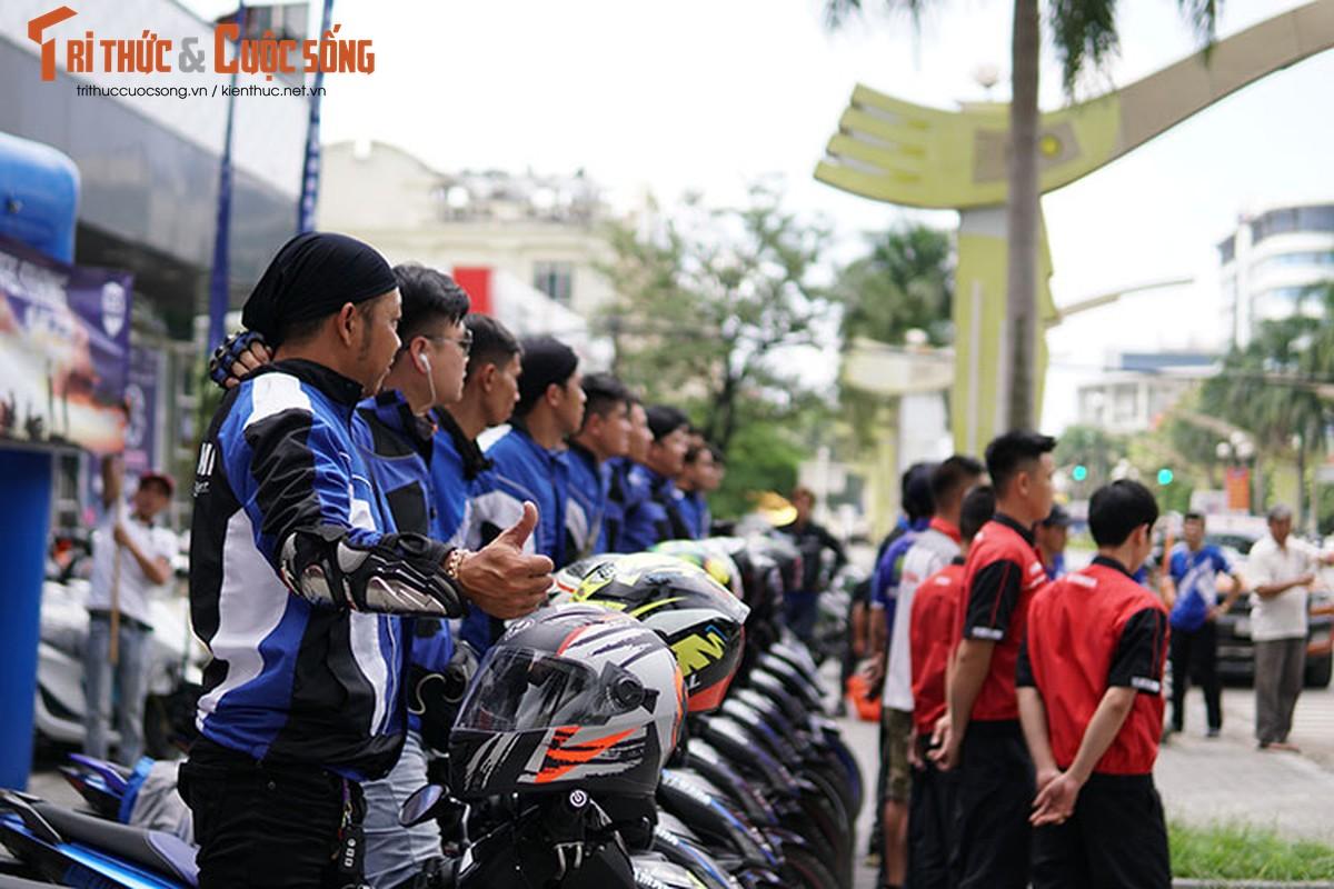 Dan xe may Yamaha Exciter 2019 phuot Sai Gon - Ha Giang-Hinh-8