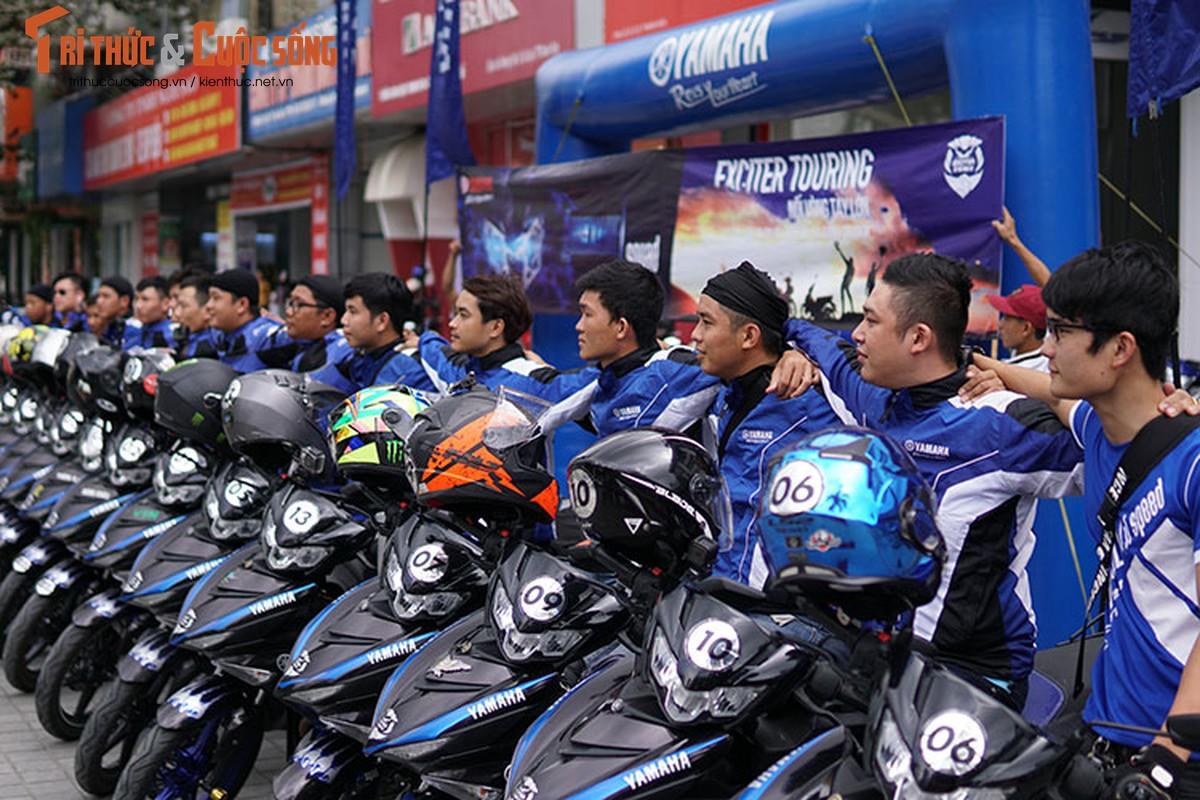 Dan xe may Yamaha Exciter 2019 phuot Sai Gon - Ha Giang-Hinh-9