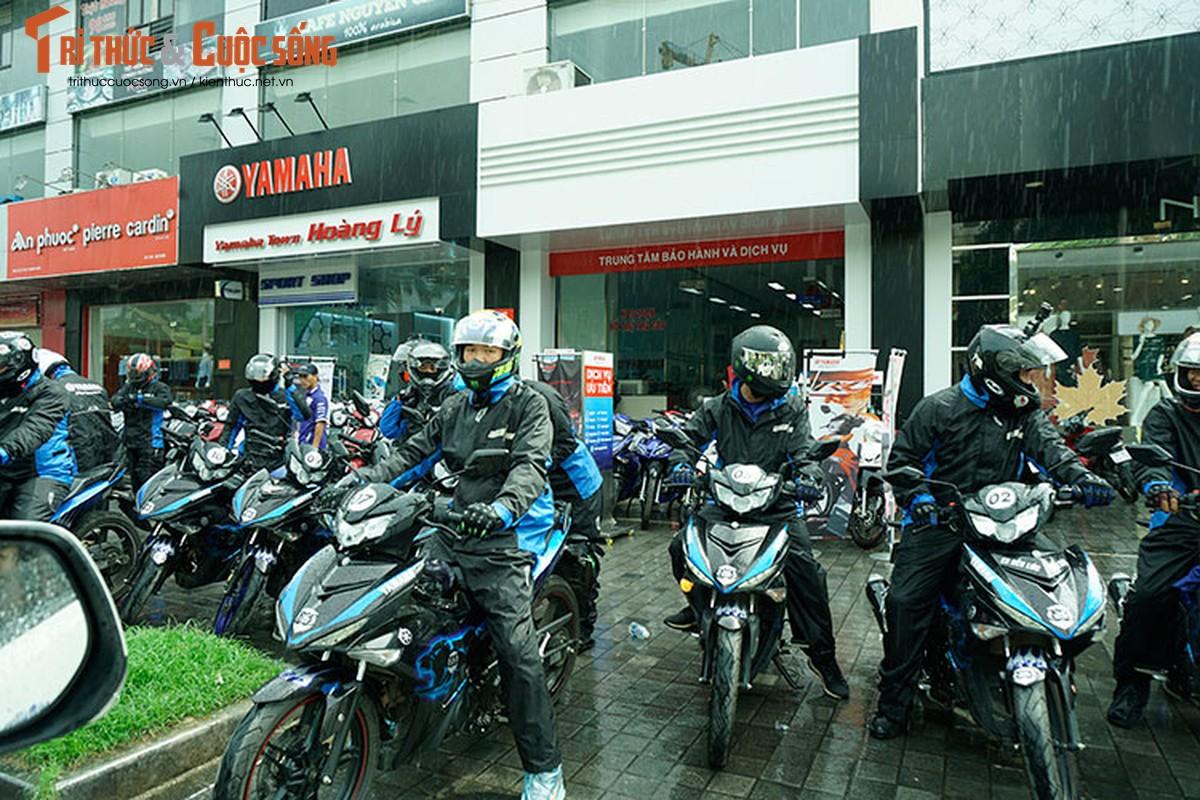 Dan xe may Yamaha Exciter 2019 phuot Sai Gon - Ha Giang