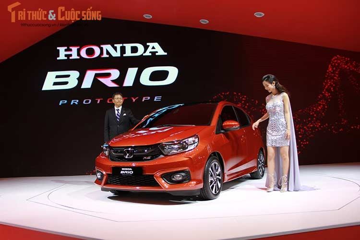 Can canh xe oto sieu re Honda Brio 2018 tai Viet Nam-Hinh-10