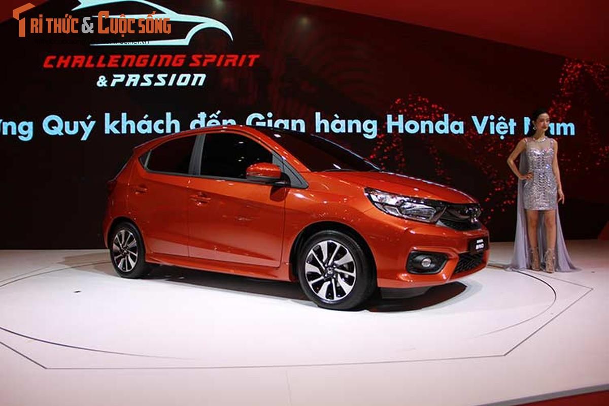 Can canh xe oto sieu re Honda Brio 2018 tai Viet Nam-Hinh-2