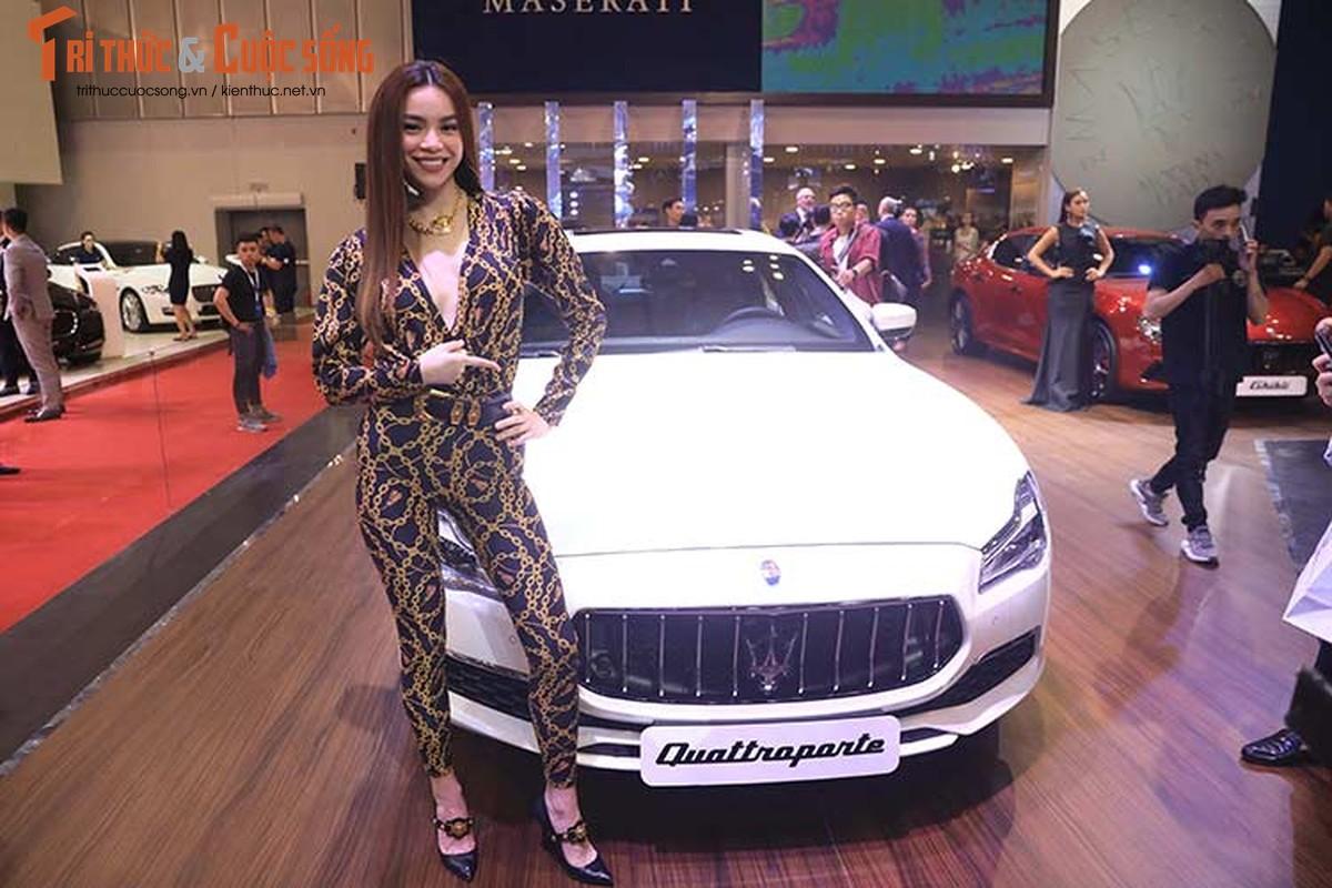 Ha Ho do dang cung dan nguoi dep va xe sang Maserati-Hinh-2