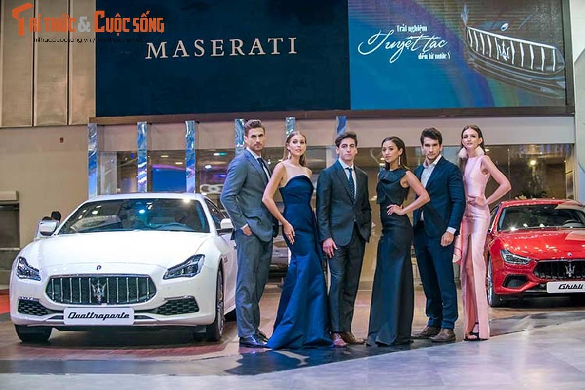 Ha Ho do dang cung dan nguoi dep va xe sang Maserati-Hinh-6
