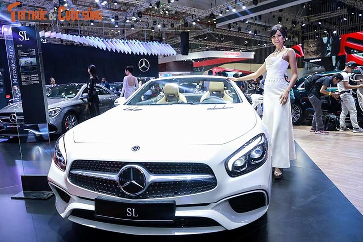 Hoa hau H'Hen Nie do dang cung dan xe sang Mercedes-Benz-Hinh-11