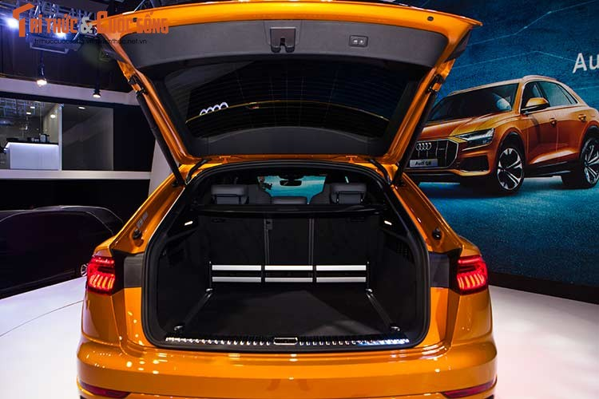 Chi tiet xe sang Audi Q8 gia 4,5 ty dong tai Viet Nam-Hinh-11