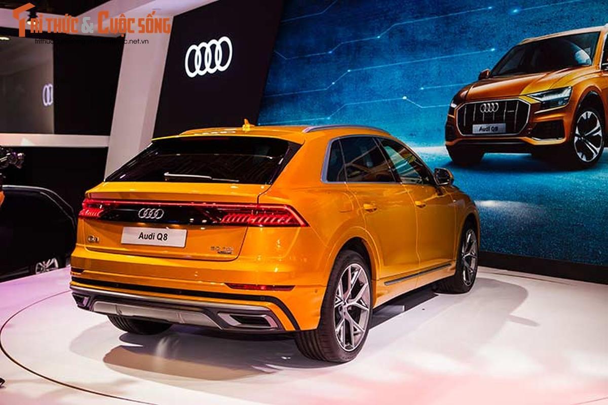 Chi tiet xe sang Audi Q8 gia 4,5 ty dong tai Viet Nam-Hinh-13