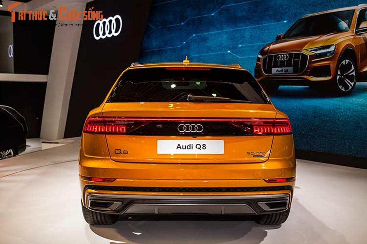Chi tiet xe sang Audi Q8 gia 4,5 ty dong tai Viet Nam-Hinh-4