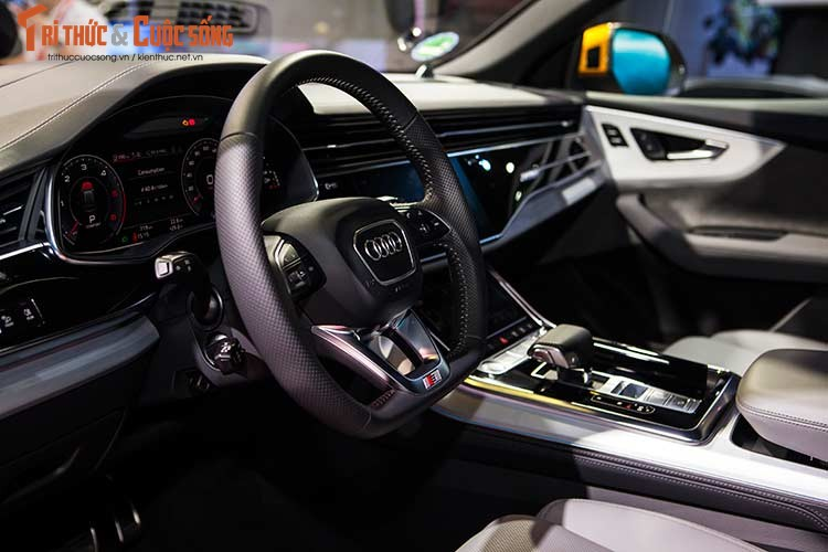 Chi tiet xe sang Audi Q8 gia 4,5 ty dong tai Viet Nam-Hinh-8