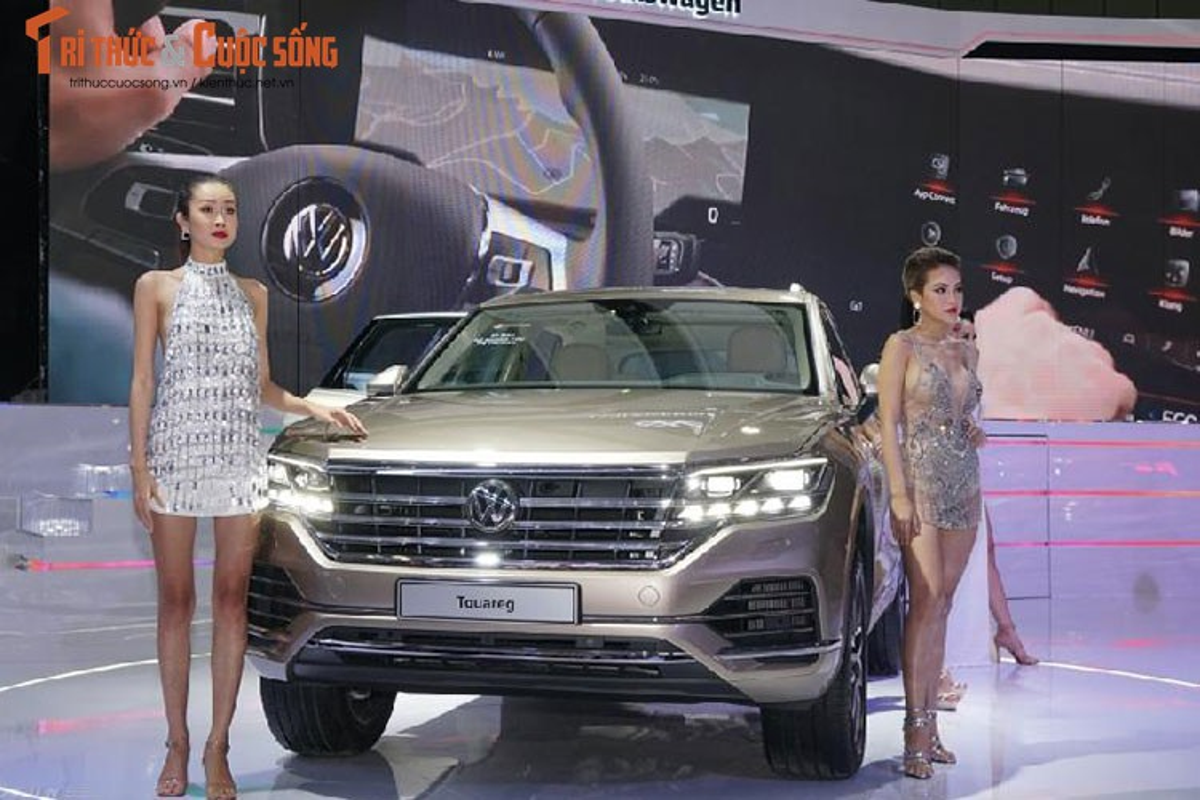 Can canh Volkswagen Touareg moi gia hon 3 ty tai Viet Nam?