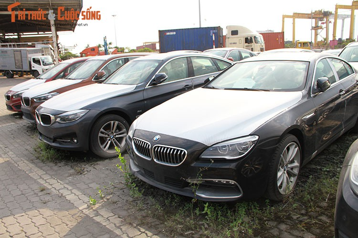 Can canh dan xe BMW nhap lau nam moc meo o cang Sai Gon-Hinh-3