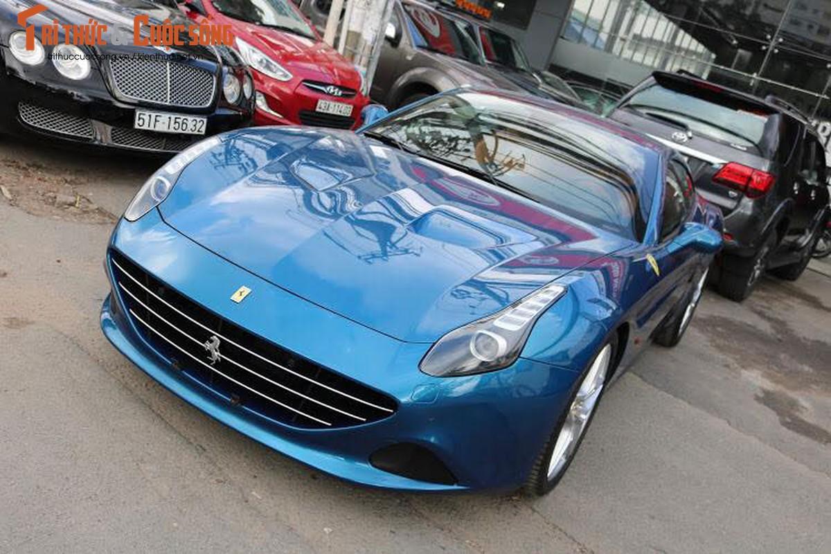 Dai gia Hai Phong tau sieu xe Ferrari California T hon 13,5 ty