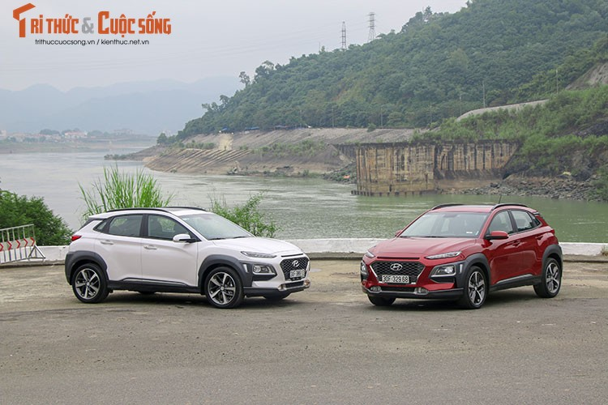Hyundai Kona gia tu 615 trieu tai VN co gi hap dan?