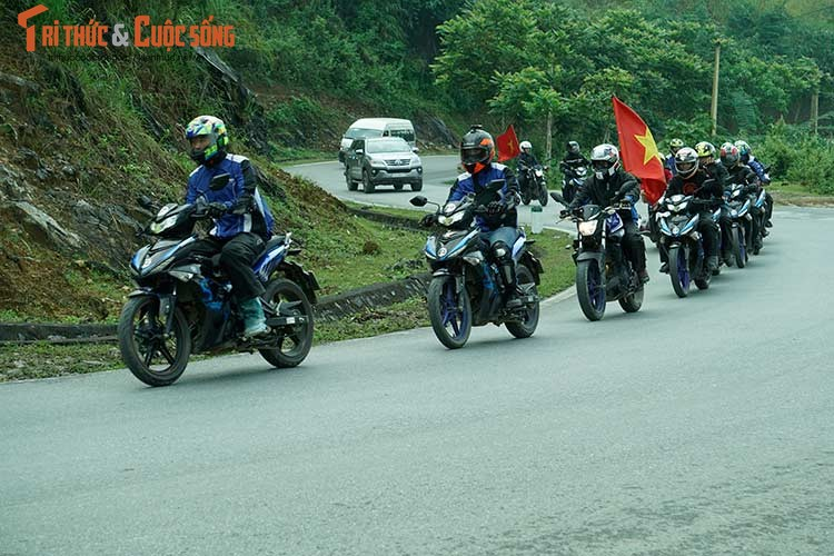 Trai nghiem 3500km cung xe may Yamaha Exciter 2019 moi