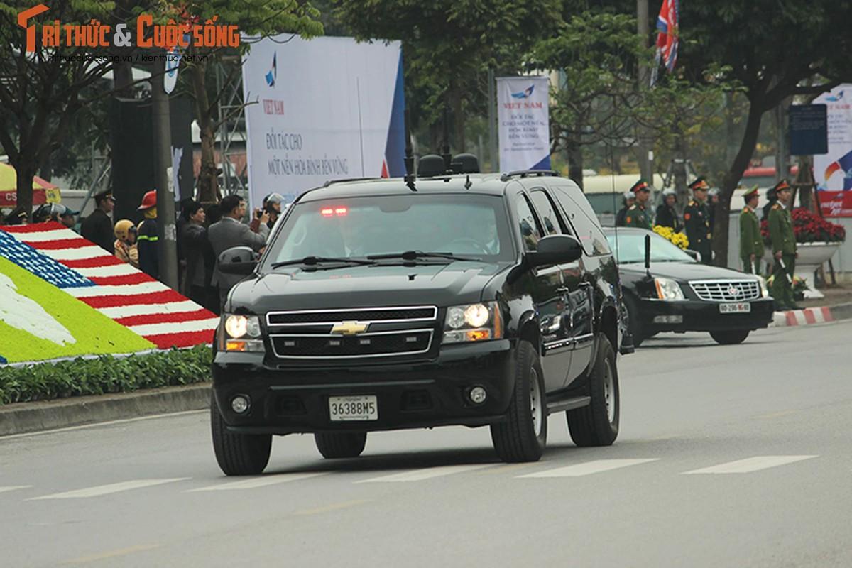 Can canh dan xe ho tong Tong thong Trump tai HN-Hinh-6