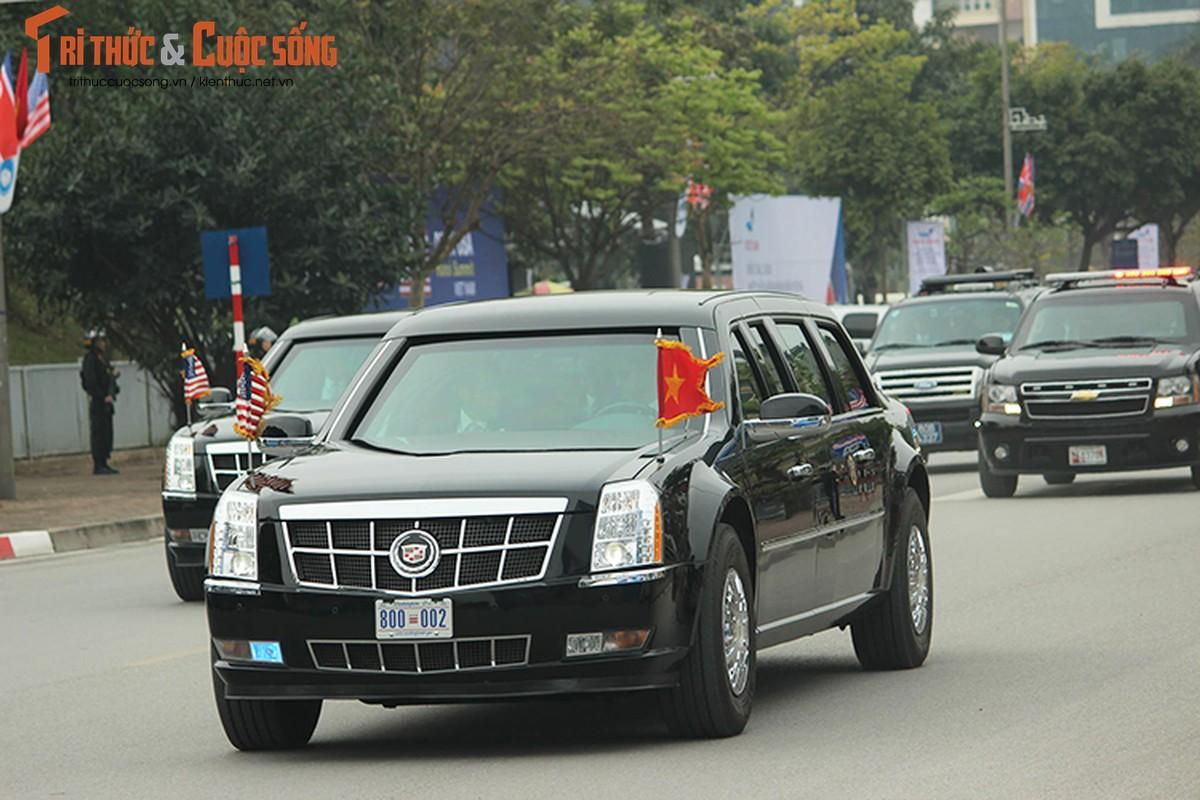 Can canh dan xe ho tong Tong thong Trump tai HN-Hinh-9