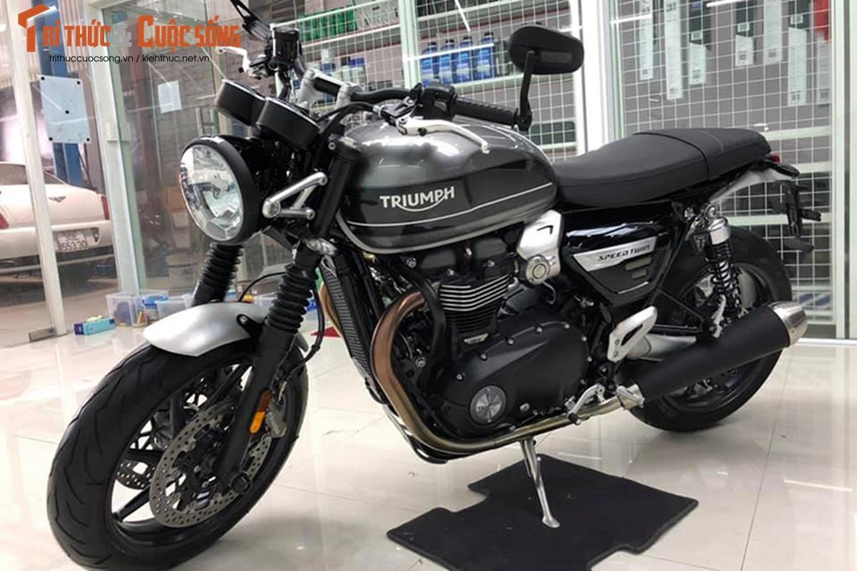 Chi tiet moto Triumph Speed Twin gia 589 trieu tai Viet Nam