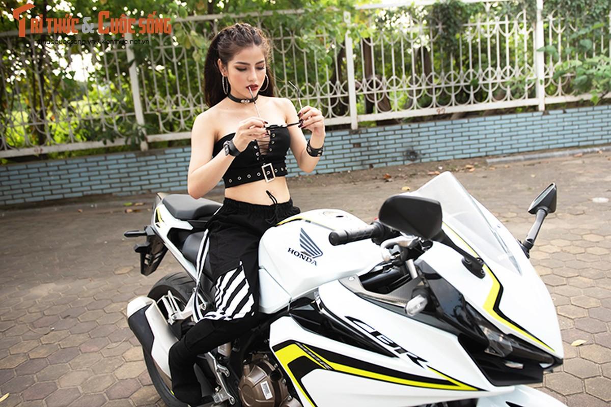 DJ Mi-A ho bao ben Honda CBR500R gia 187 trieu dong-Hinh-10