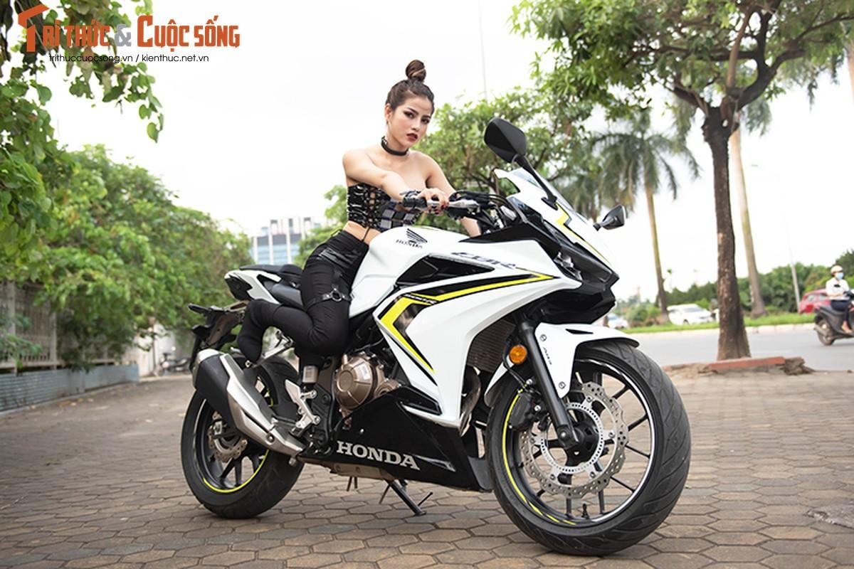 DJ Mi-A ho bao ben Honda CBR500R gia 187 trieu dong-Hinh-11