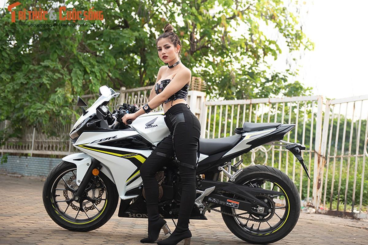 DJ Mi-A ho bao ben Honda CBR500R gia 187 trieu dong-Hinh-6