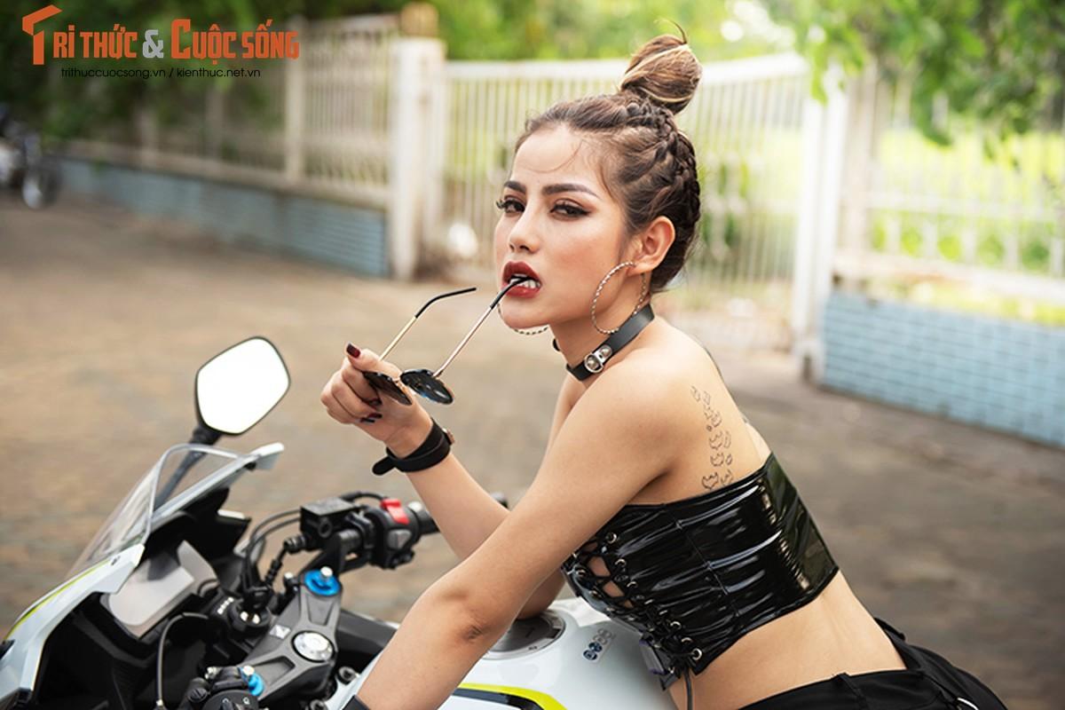 DJ Mi-A ho bao ben Honda CBR500R gia 187 trieu dong-Hinh-7