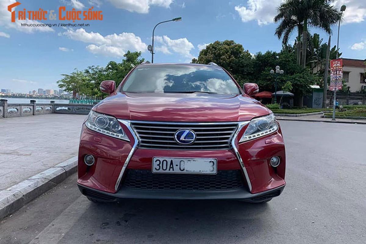 Xe sang Lexus RX350 dung 10 nam gia 1,5 ty o Ha Noi-Hinh-3