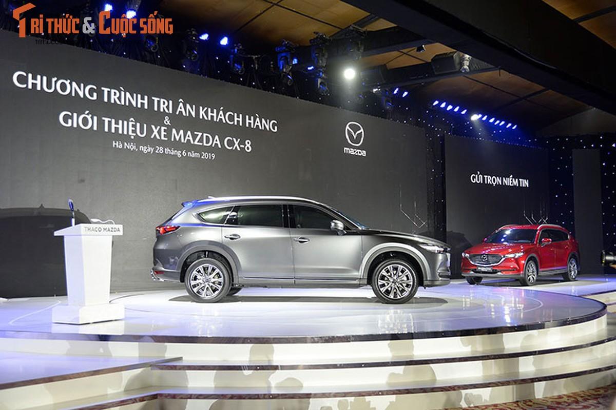 Can canh Mazda CX-8 moi hon 1 ty dong tai Ha Noi