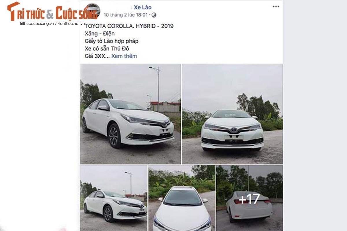 Sao Toyota Corolla Hybrid 2019 moi chi 300 trieu o Viet Nam?-Hinh-2