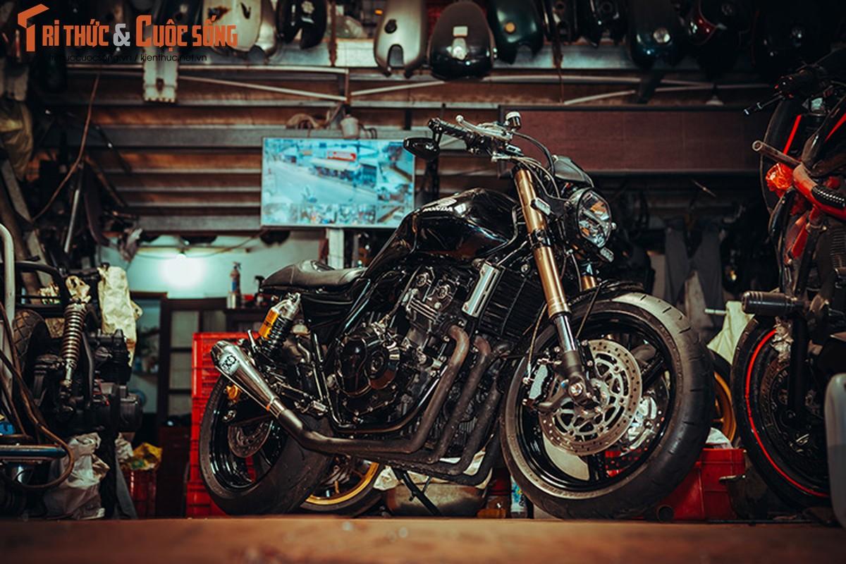Honda CB400 cafe racer cuc chat tu lo do Tu Thanh Da-Hinh-2