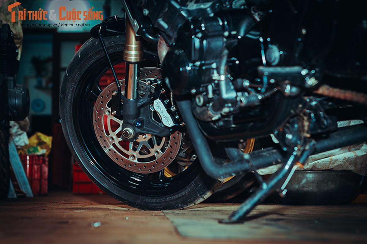 Honda CB400 cafe racer cuc chat tu lo do Tu Thanh Da-Hinh-8