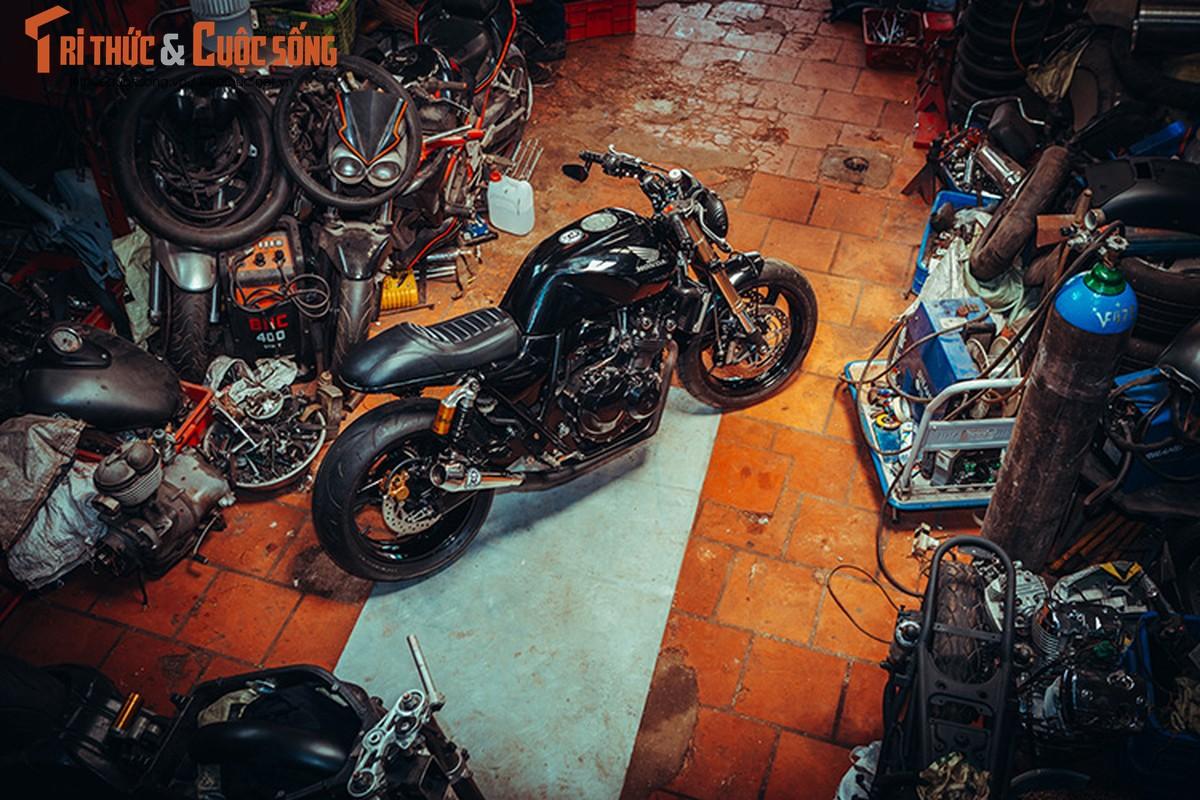 Honda CB400 cafe racer cuc chat tu lo do Tu Thanh Da-Hinh-9
