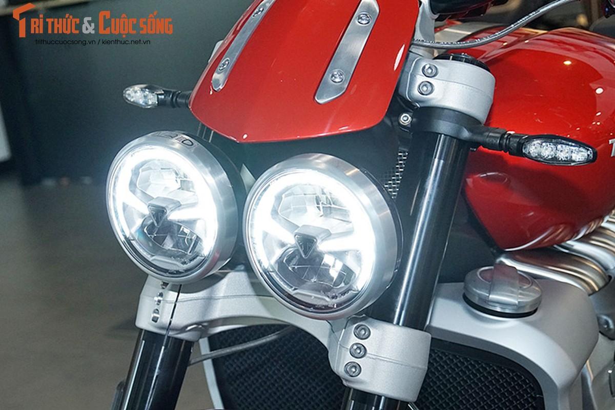 Triumph Rocket 3 tu 869 trieu tai Viet Nam, dat hon Honda Civic-Hinh-3