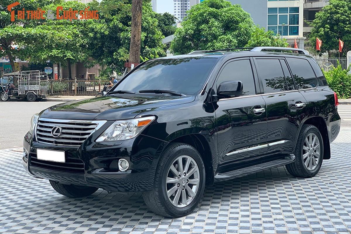 Lexus LX570 dung 10 nam chao ban 2,5 ty dong tai Ha Noi-Hinh-10