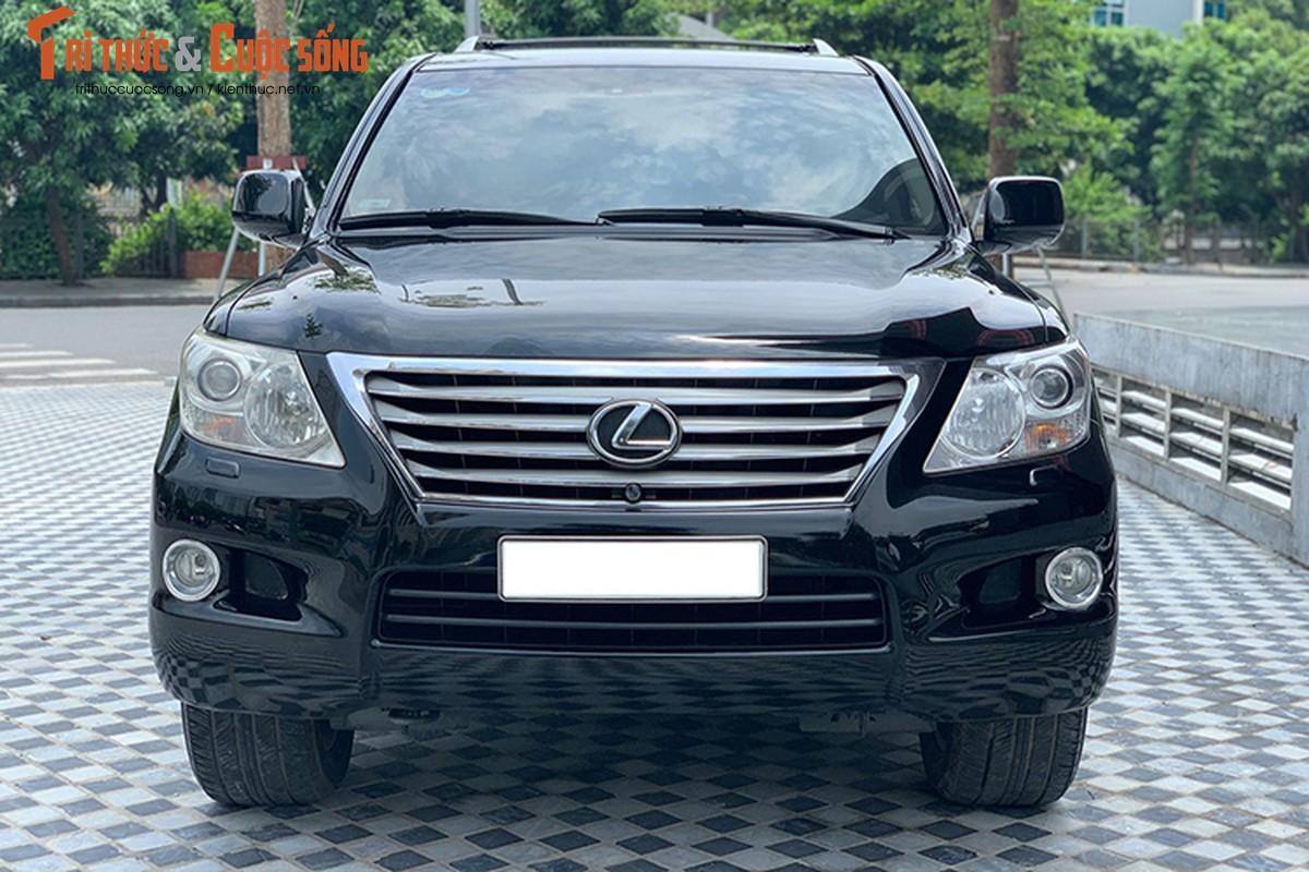 Lexus LX570 dung 10 nam chao ban 2,5 ty dong tai Ha Noi-Hinh-3