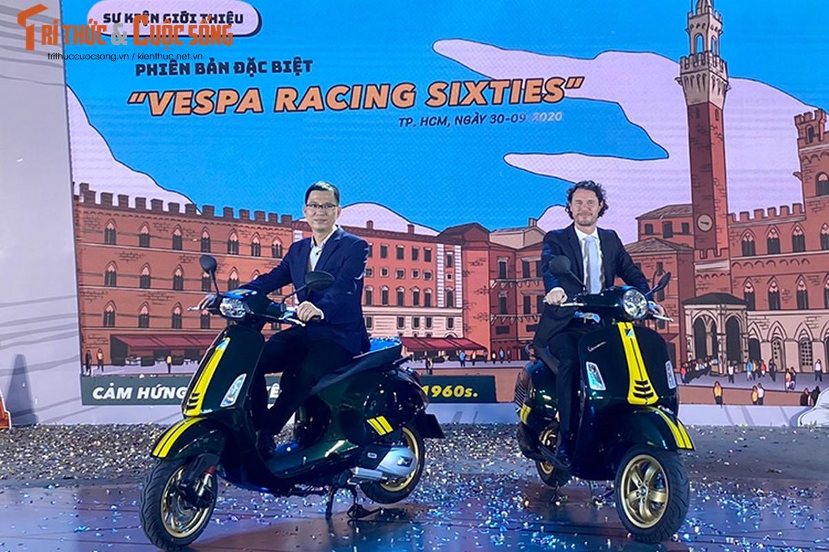 Can canh Vespa Racing Sixties moi tu 95 trieu tai Viet Nam