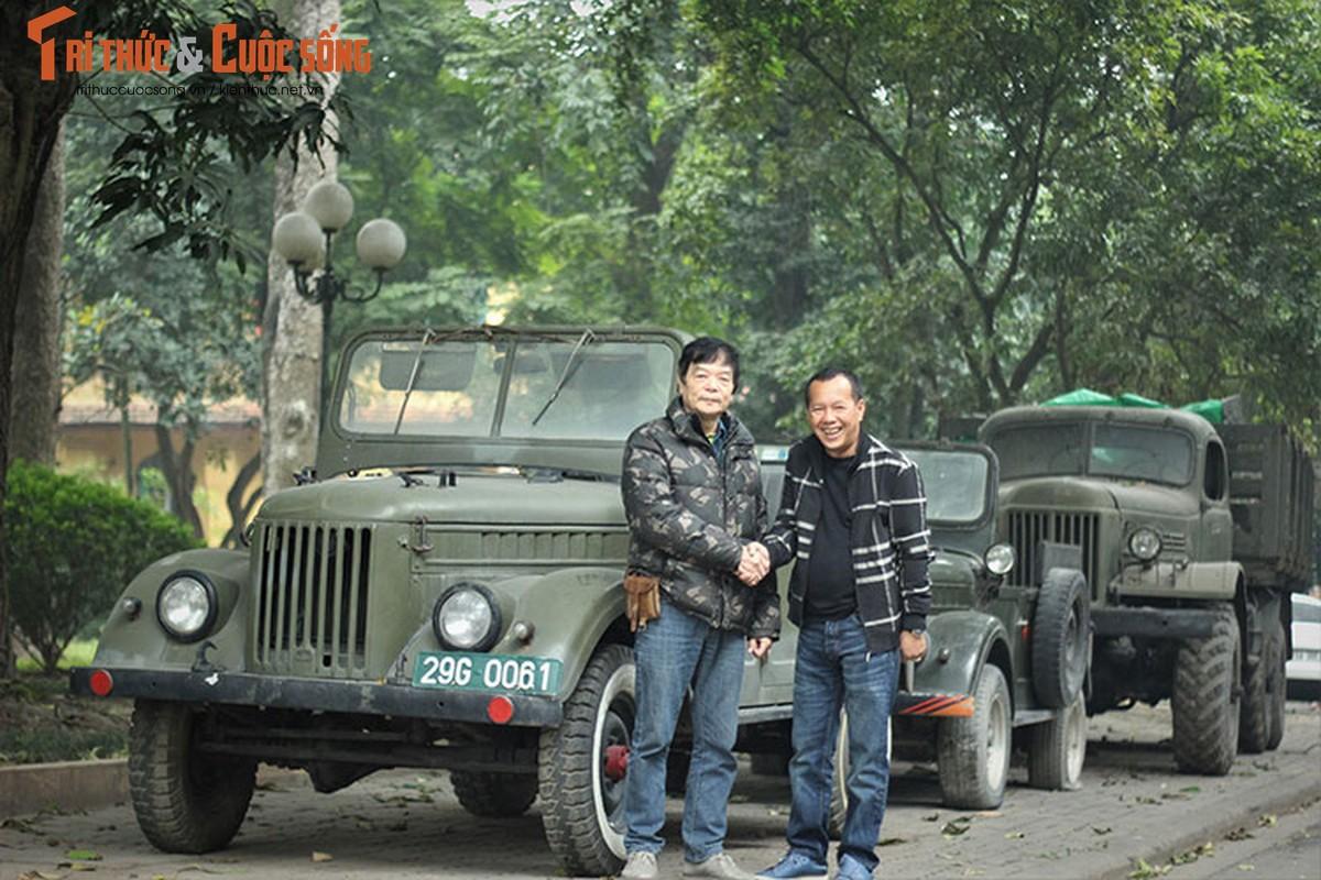 Nguoi lam vuon tang xe GAZ 69 toi gia dinh Dai tuong Vo Nguyen Giap-Hinh-2