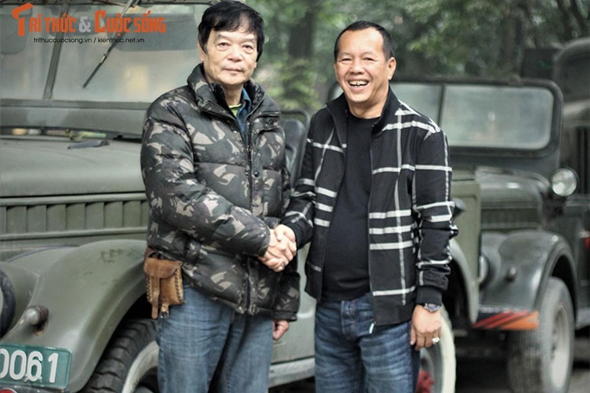 Nguoi lam vuon tang xe GAZ 69 toi gia dinh Dai tuong Vo Nguyen Giap