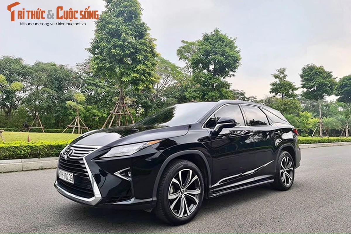 Lexus RX350L 2019 hon 4 ty tai Sai Gon, dat nhu xe moi