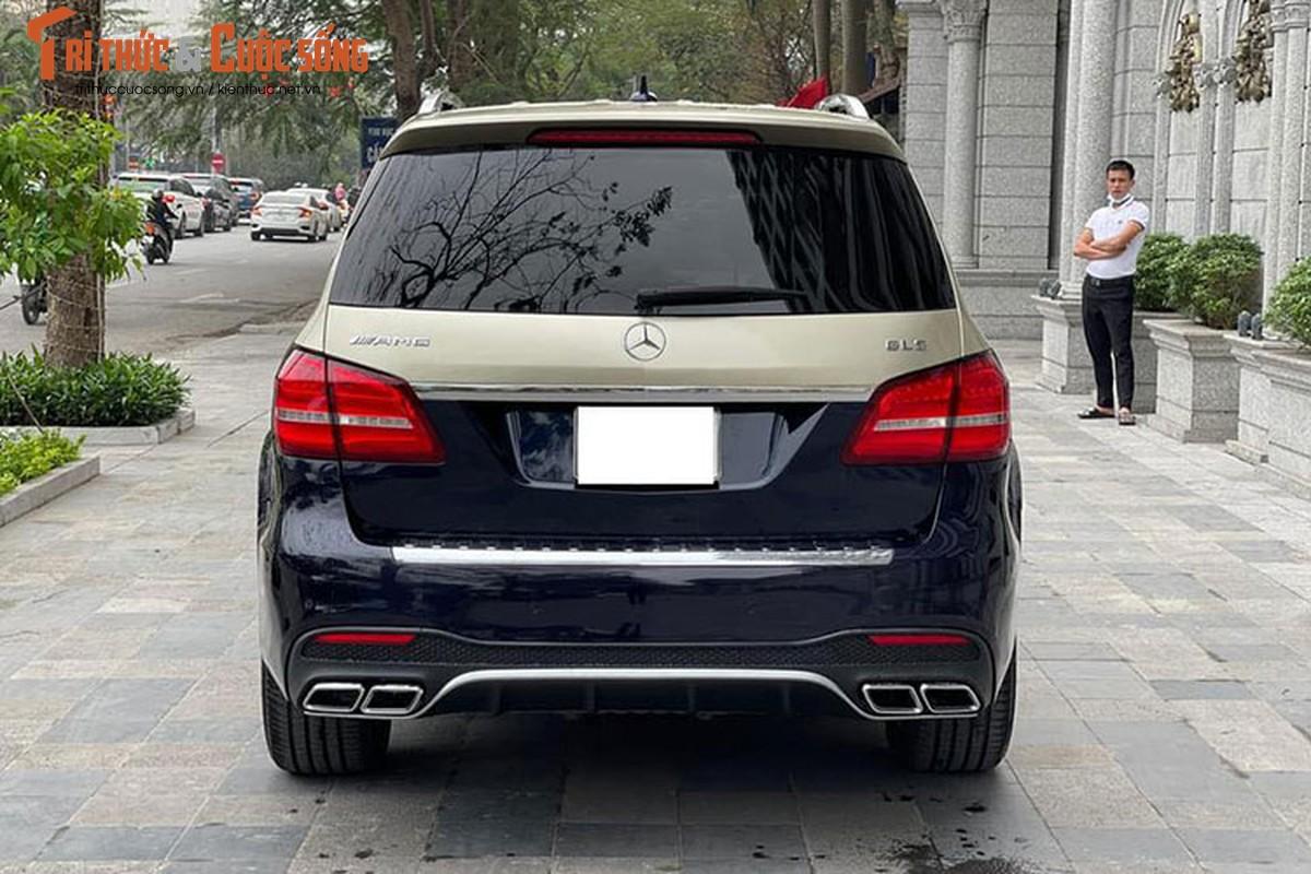 Can canh Mercedes-Benz GLS400 do Maybach hon 3 ty dong o Ha Noi-Hinh-9
