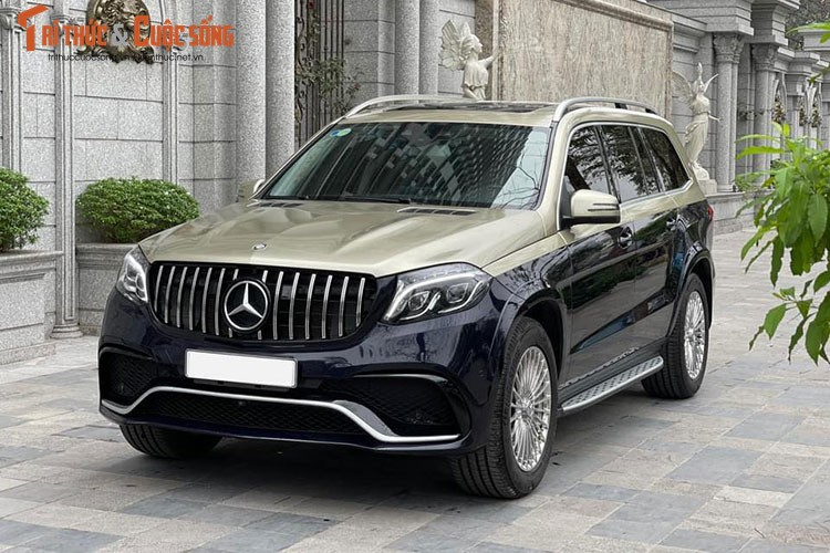 Can canh Mercedes-Benz GLS400 do Maybach hon 3 ty dong o Ha Noi