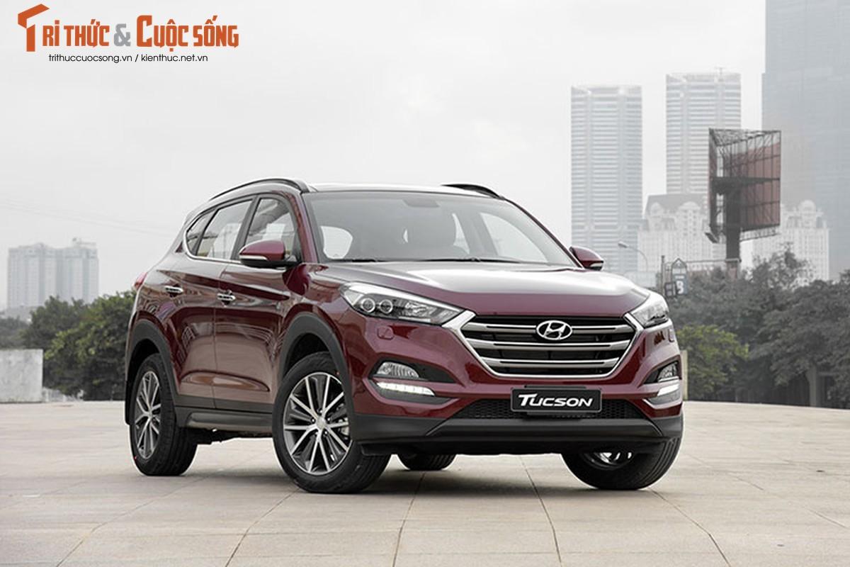 Can canh Hyundai Tucson 2016 dung chan, hon 700 trieu tai Ha Noi