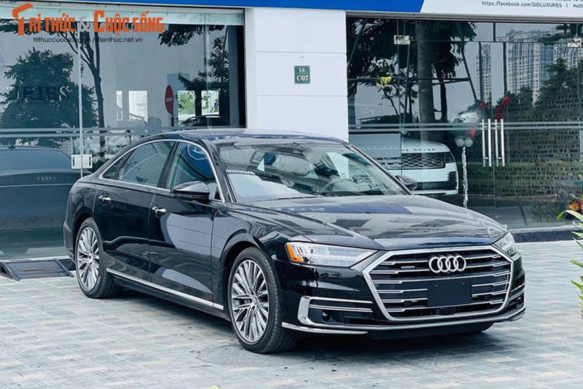 Can canh Audi A8L 2021 tai Viet Nam, du doan hon 7 ty dong