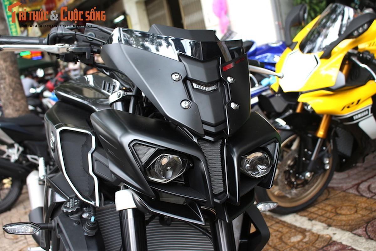 """Quai thu"" Yamaha MT-10 gia 557 trieu dau tien tai VN-Hinh-2"