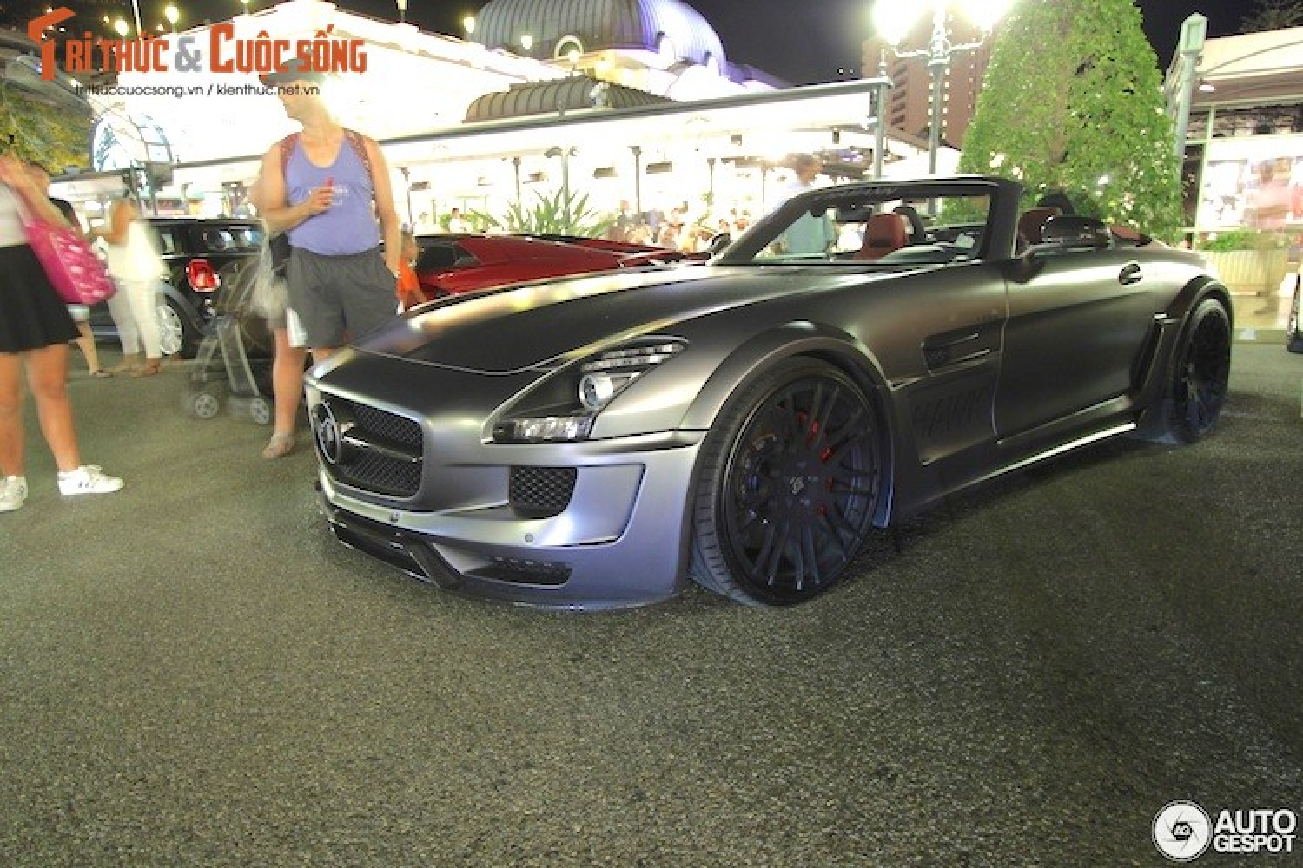 Ban do Mercedes SLS AMG Roadster