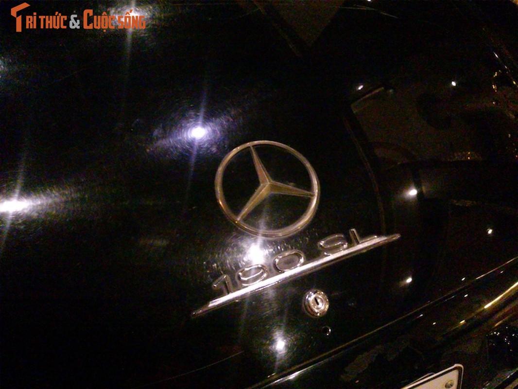 Xe co mui tran tien ty Mercedes 190SL